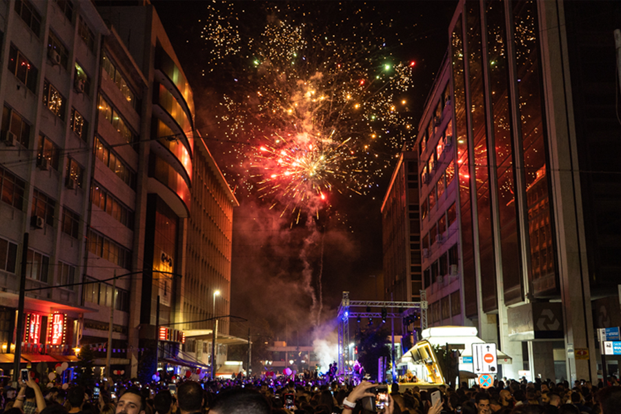 [5 Δεκεμβρίου] Street party - 2ας Μεραρχίας, Τρούμπα