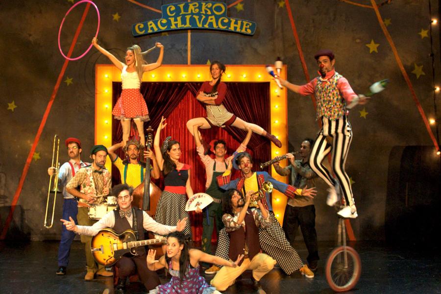 [28 Δεκεμβρίου] Τσίρκο CACHIVACHE - Πλατεία Πηγαδάς